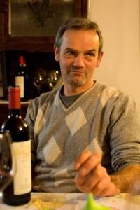 Osvaldo Viberti: great winemaker, great host!